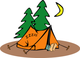 camping-cartoon-cartoon-sleeping-camper