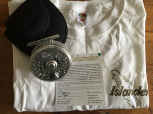 Islander T-shirt and Reel