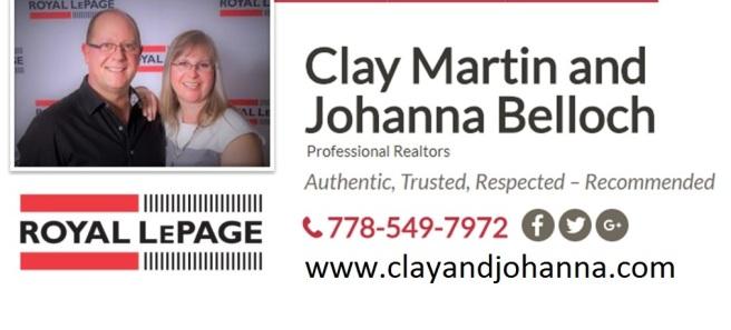 Clay and Johanna